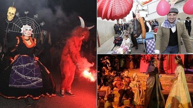 Las Diablas, la Pedida de la Patatera y La Boda Regia, Fiestas de Interés Turístico regional