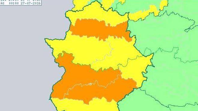 Badajoz alcanza por segundo día consecutivo la temperatura más alta de España, 42,9 grados