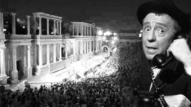 Paco Martínez Soria, un grande que no estuvo en el Teatro Romano de Mérida