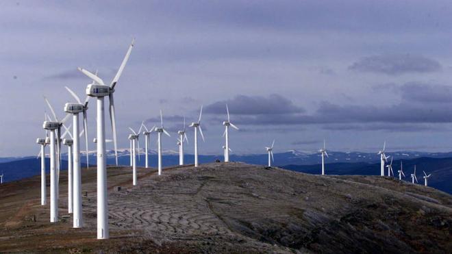 Una veintena de proyectos eólicos sigue adelante con su tramitación