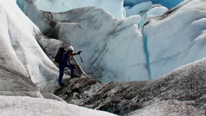 Explorando un pequeño glaciar sin nombre (Parte 2)