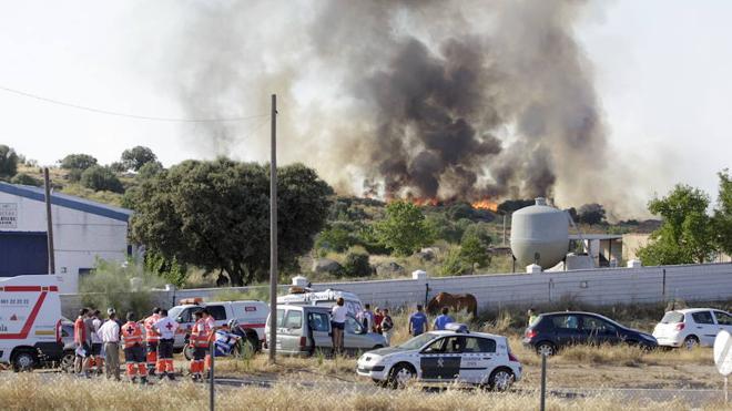La Guardia Civil ha detenido este año a 19 personas por quemar el monte