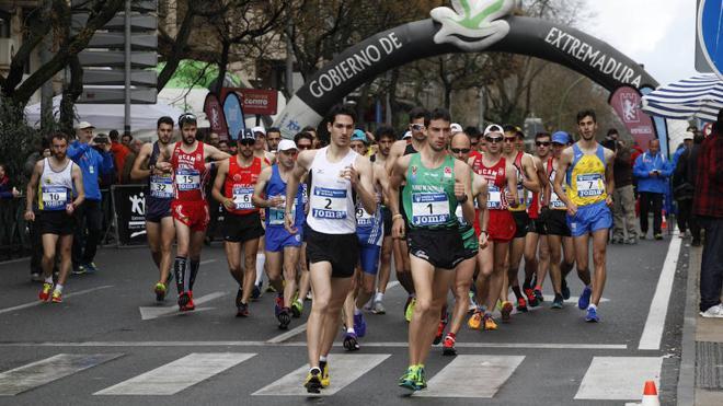 Mérida, sede del Campeonato de España de 20 km marcha