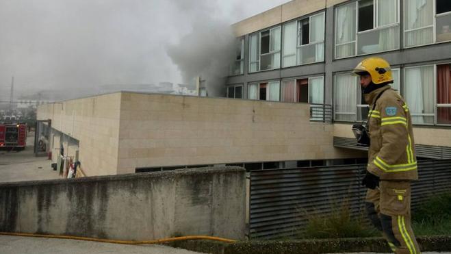 Evacuado un centro de personas con discapacidad intelectual en Alcántara por un incendio