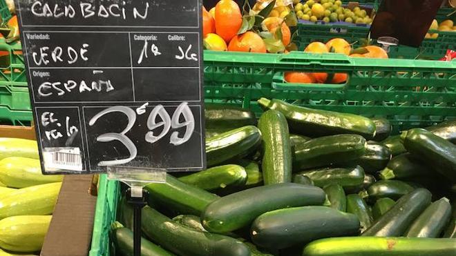 ¿Por qué están las verduras tan caras?