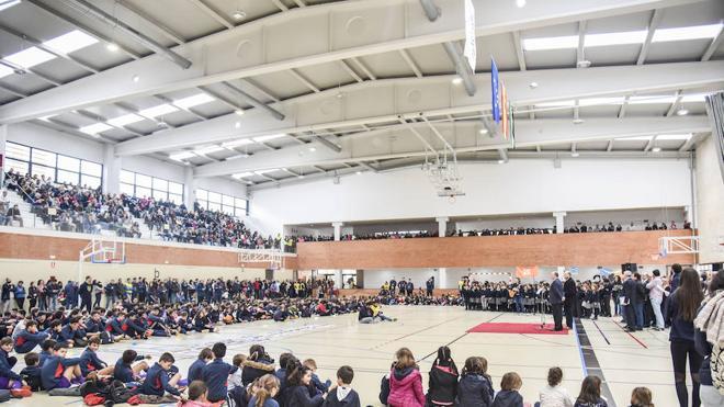 Los Maristas inauguran su pabellón deportivo