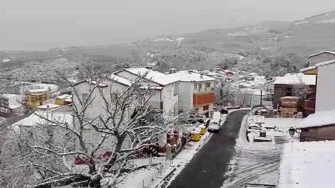 La nieve llega en marzo