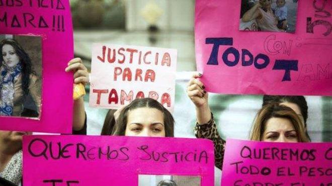 Declarado culpable de homicidio, maltrato y amenazas el viudo de Tamara Simón
