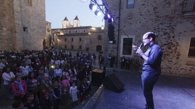 De 'La Voz' a la Plaza de Santa María