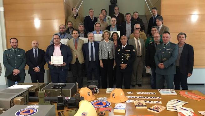 Reconocimiento a los voluntarios de Radio de Emergencia de Protección Civil