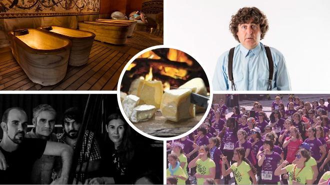 Del Guoman a Termarium saboreando quesos, chuletas y torrijas