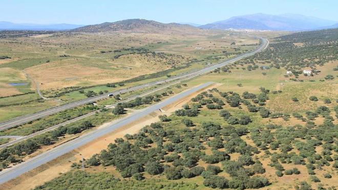 El tramo del AVE Cáceres-Plasencia en 10 fotos