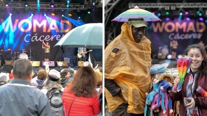 La lluvia obliga a hacer algunos cambios en la programación del Womad