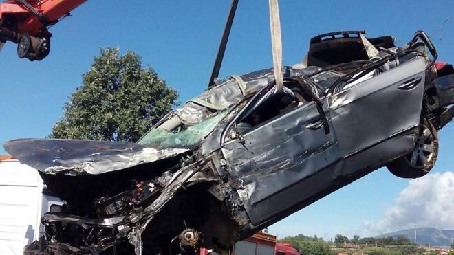 El exceso de velocidad, entre las posibles causas del accidente que dejó tres muertos