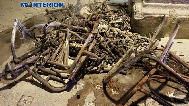 Detenido el hombre que quemó una treintena de sillas de una terraza en Plasencia
