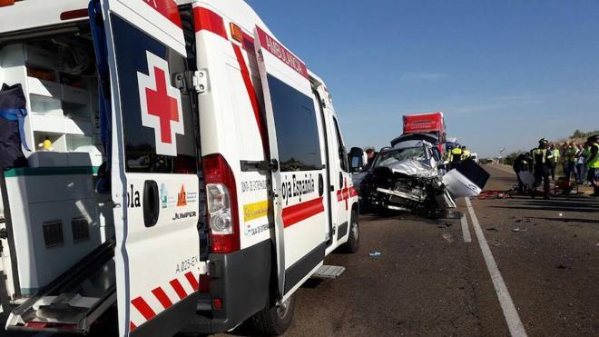 La mujer fallecida en una colisión cerca de Solana de los Barros era natural de Castuera