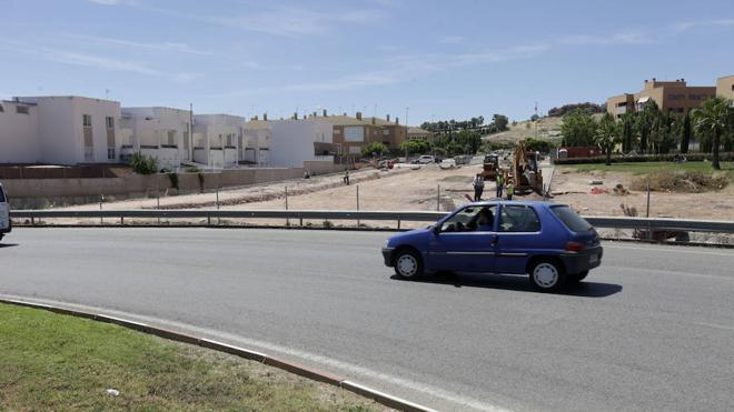 Avanzan las obras de la nueva conexión de la Ronda Norte y Montesol