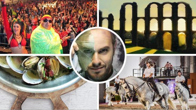 Fin de semana mágico entre la Feria de Plasencia y la villa romana de Barbaño