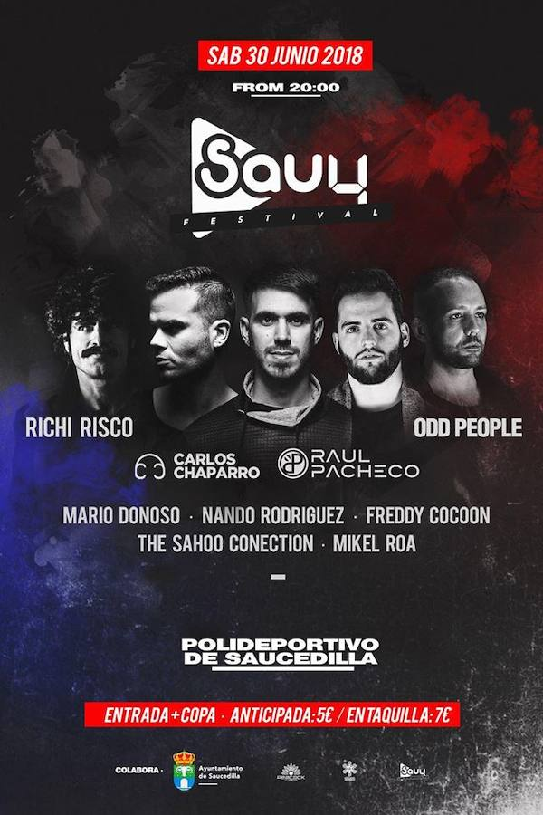 Freddy Cocoon y The Sahoo Conection participarán en el Sau4fest