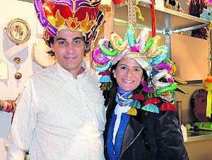 los gorros son protagonistas del museo del carnaval hoy