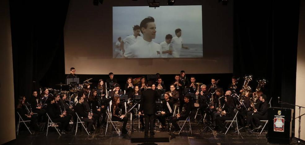 La Banda de Música llena el teatro de cine en su segundo concierto