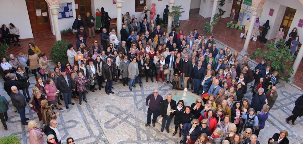 Cerca de 300 mayores de reúnen por el 20 aniversario de la Universidad de Mayores