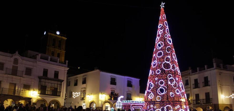 Zafra inaugura el día 5 la Navidad con el encendido de luces del centro