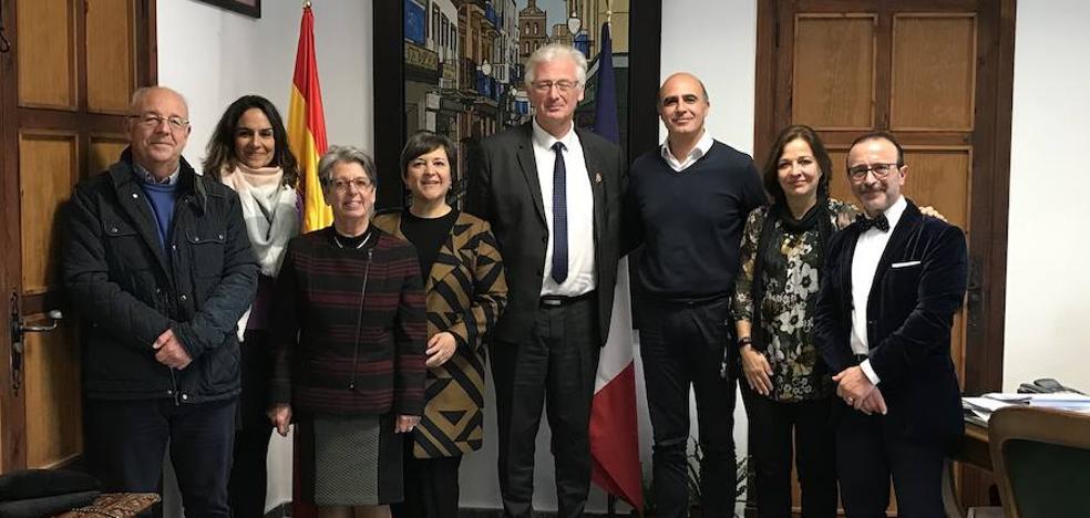 La ciudad francesa de Ramboullet busca estrechar sus lazos con Zafra