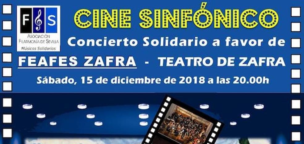 Este sábado concierto de cine sinfónico a beneficio de Feafes