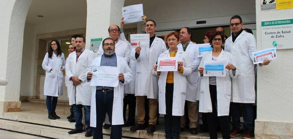 Médicos de Llerena-Zafra paran para reclamar mejoras