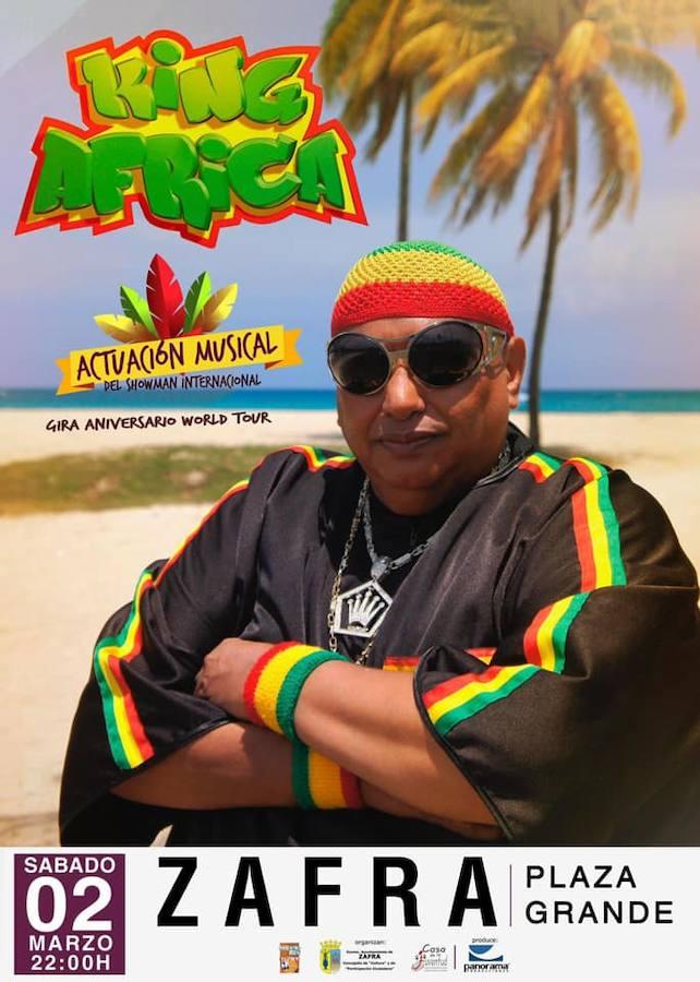 King África actúa en el Carnaval de Zafra