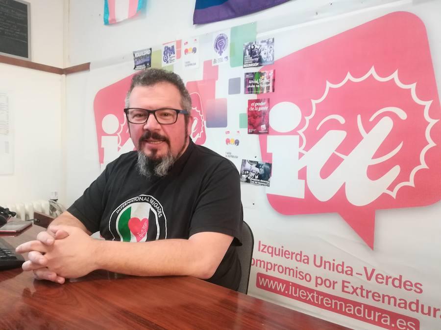 David Jiménez, candidato a la alcaldía de Zafra por Izquierda Unida- Los Verdes