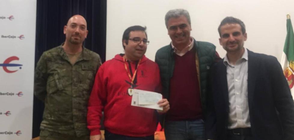 Manuel Pérez Candelario se proclama campeón del I torneo de la Brigada Extremadura XI