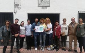 El festival Zafra Canta entrega 1.294,91 euros para la investigación del cáncer infantil
