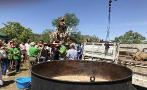 Gran ambiente y mucho calor en el día de San Isidro