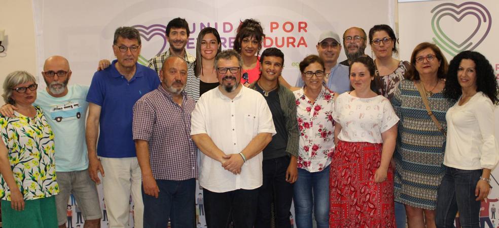 Unidas por Zafra-Izquierda Unida presenta su candidatura y el proyecto que tiene para Zafra