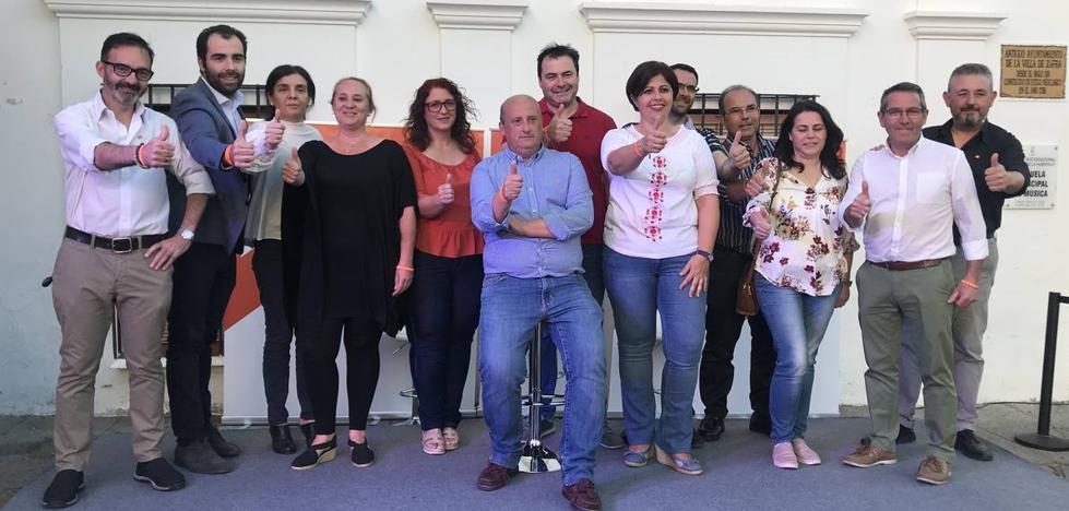 Ciudadanos presentó su candidatura para Zafra de cara al próximo 26M