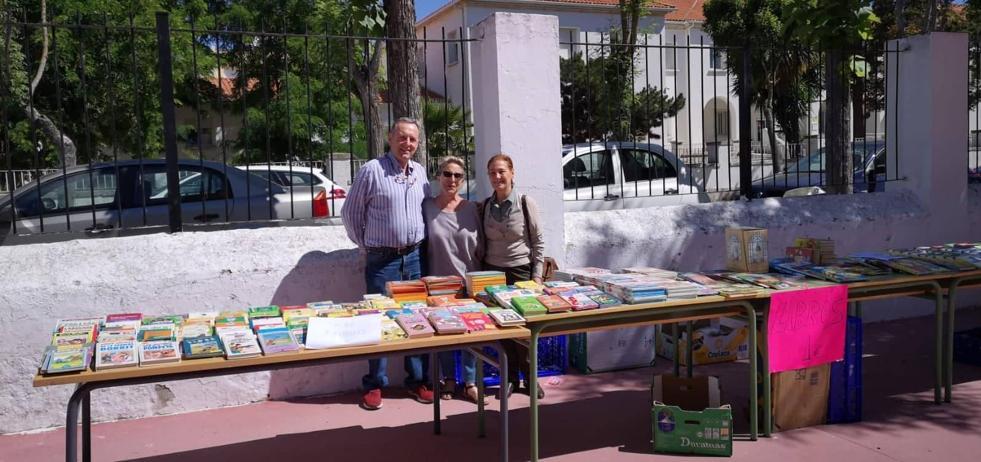 Gran aceptación de la campaña Libro Solidario de Zafra Solidaria en los ocho centros educativos