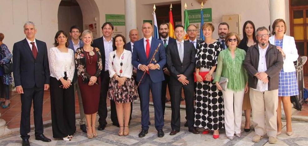 José Carlos Contreras Asturiano investido alcalde de Zafra por segunda vez consecutiva