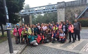 Un total de 37 peregrinos realizan ya el Camino Portugués a Santiago de Compostela