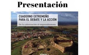 Juan Serna, Valeriano Ruiz y Fernando Toribio presentan el segundo número de 'Cuaderno extremeño para el debate y la acción'