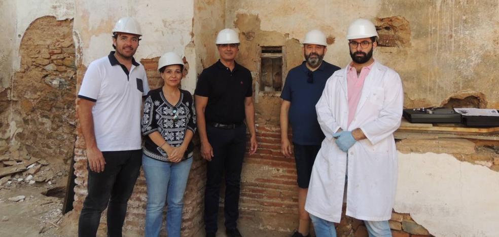 Las obras del Hospital de San Miguel ponen al descubierto restos importantes del siglo XV