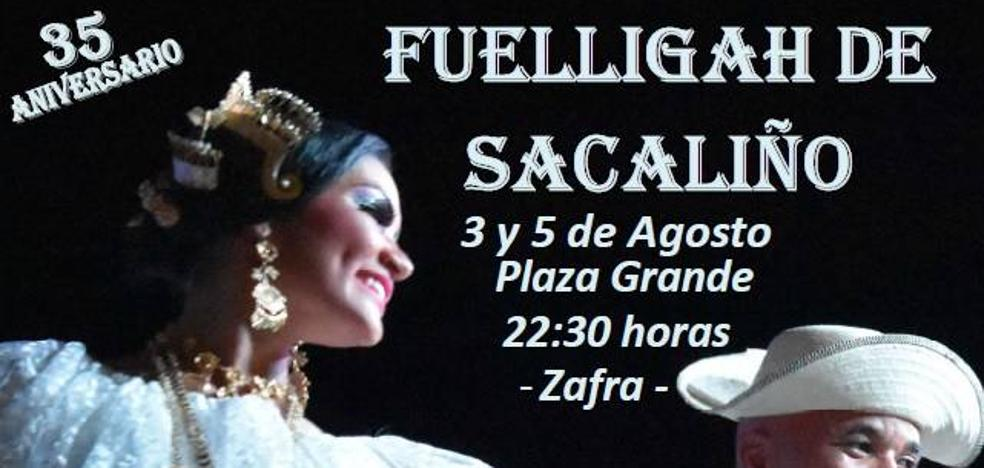 Los Coros y Danzas El Castellar conmemoran sus 35 años con el Fuelligah de Sacaliño y una exposición