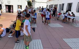 Un total de 27 niños han disfrutado este año de la ludoteca NaturActivaT