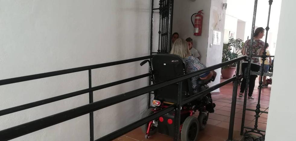 Muchas zonas de Zafra ya son accesibles para personas con movilidad reducida