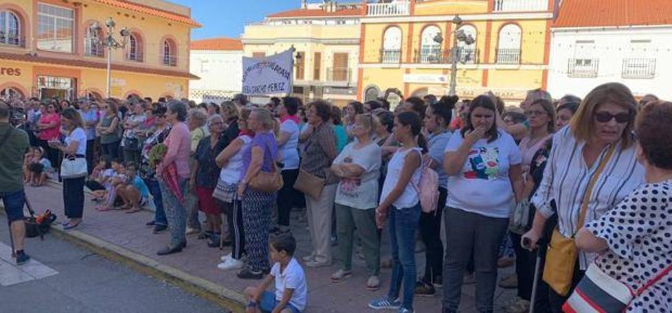 Dos concentraciones en Zafra para condenar las violencias machistas tras el intento de agresión sexual ocurrido el pasado domingo