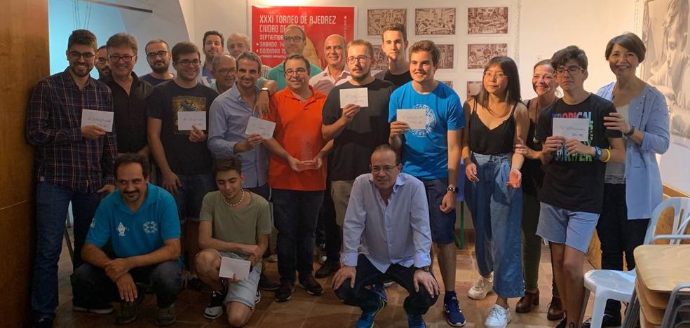 Manuel Pérez Candelario vuelve a hacerse con el Torneo de Ajedrez Ciudad de Zafra en su XXXI edición