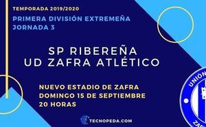 La UD Zafra Atlético recibirá este domingo en su estadio al SP Ribereña