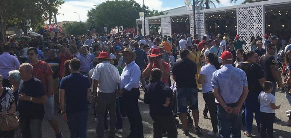 La feria de Zafra puede llegar a congregar este sábado 350.000 personas