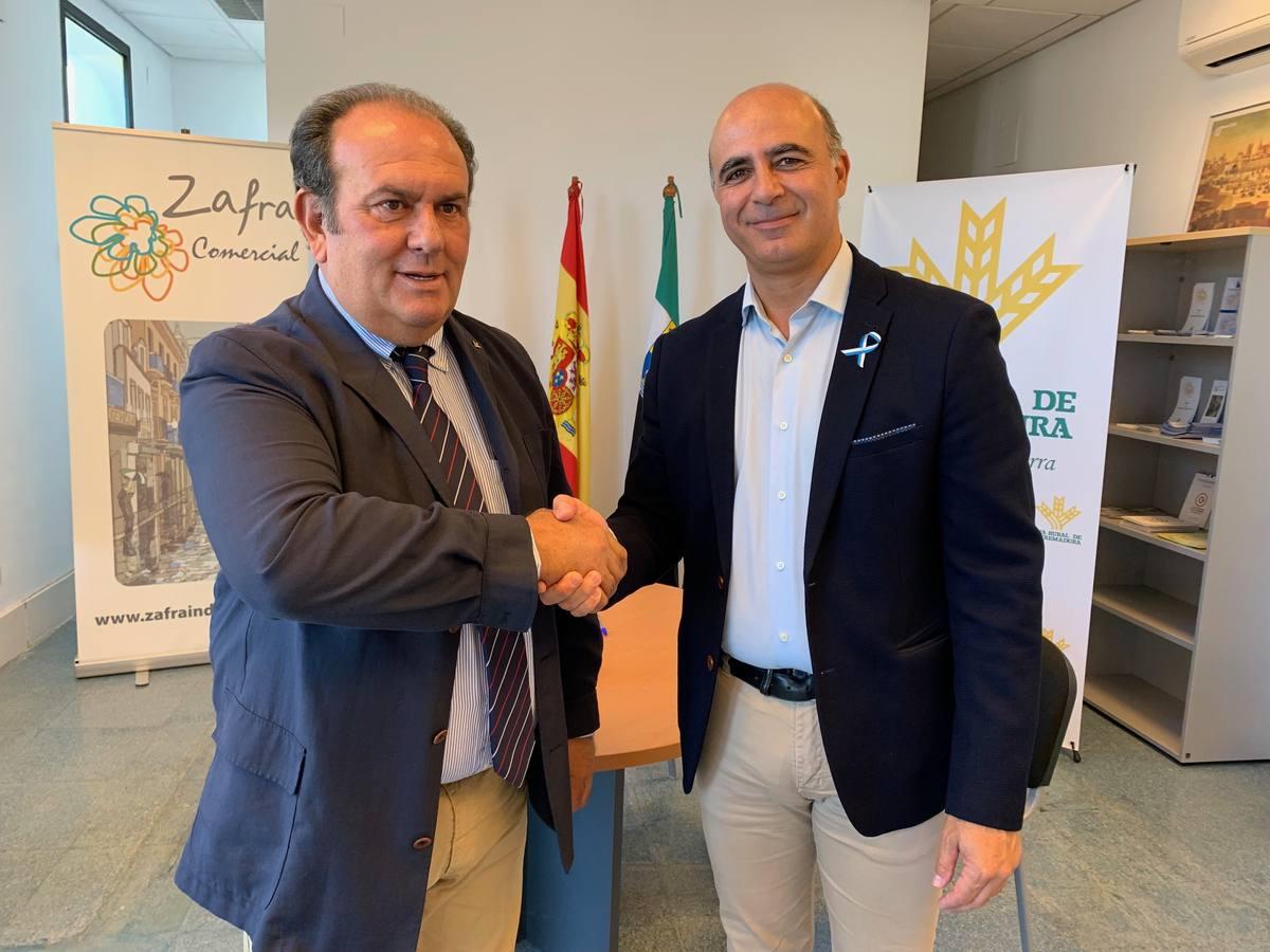 Entidad Ferial firma un año más convenios de colaboración con Ibercaja y Caja Rural de Extremadura para la FIG